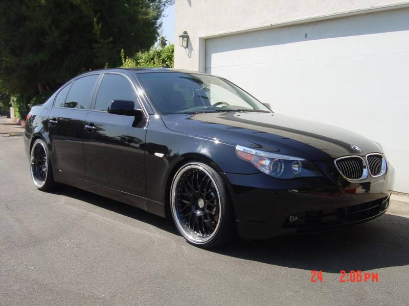 Wanted Lots Of Pics Black After Market Rims On E60