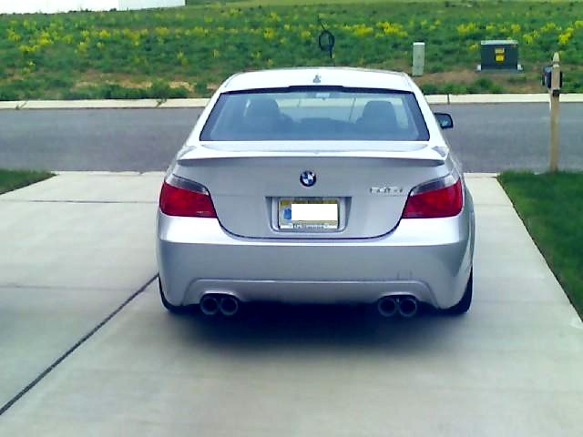 Anyone Know How Much HP A I Has - 2008 bmw 545i