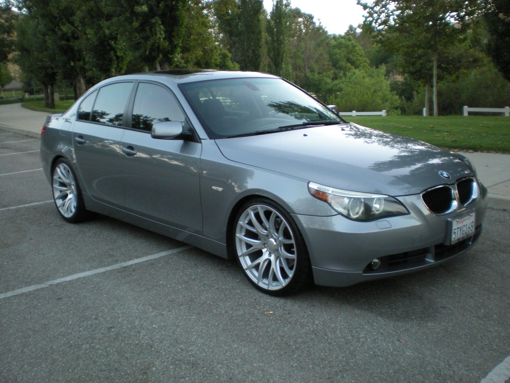 rim suggestions for bmw 550i
