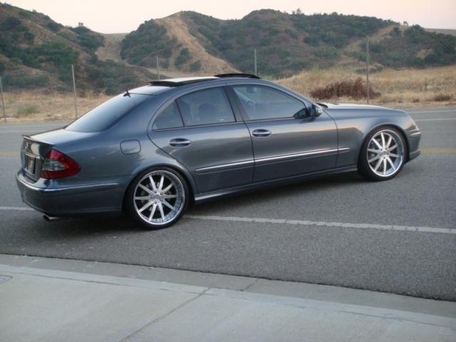 Fs or trade mercedes e class w211 h r springs sport e60 h r for Mercedes benz e60 for sale